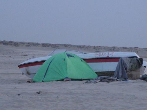 我们的帐篷